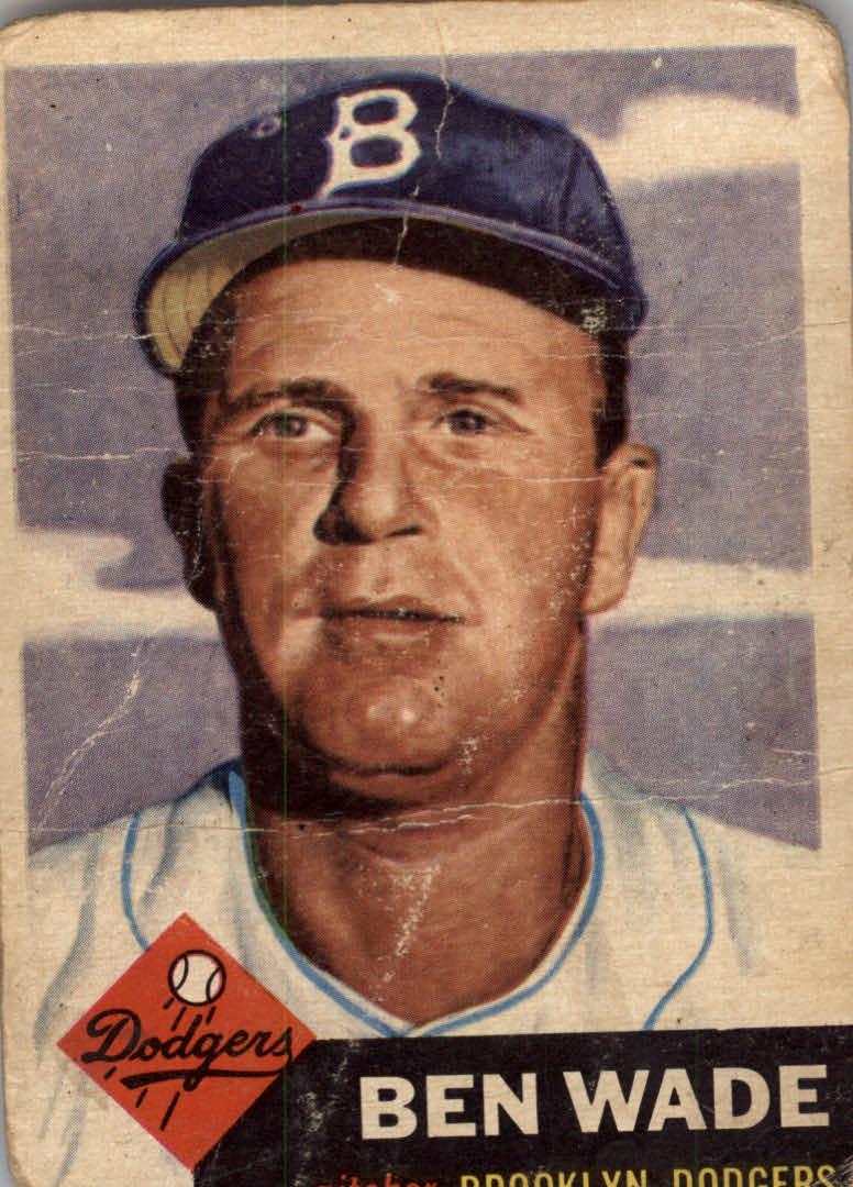 1953 Topps #4 Ben Wade
