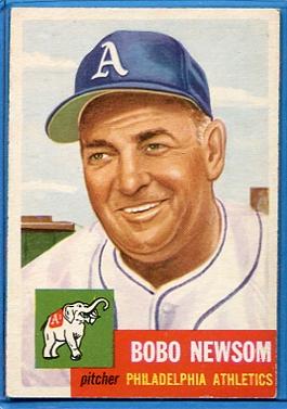 1953 Topps #15 Bobo Newsom DP RC
