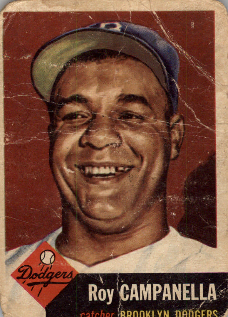 1953 Topps #27 Roy Campanella DP