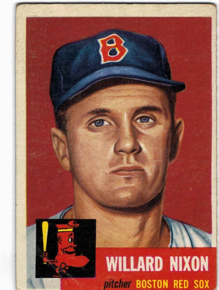 1953 Topps #30 Willard Nixon