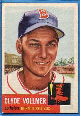 1953 Topps #32 Clyde Vollmer