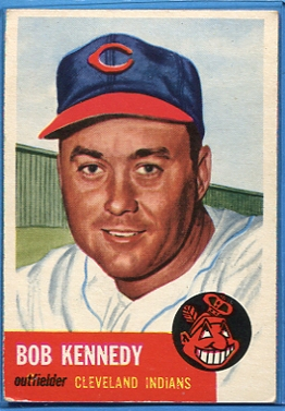 1953 Topps #33 Bob Kennedy DP