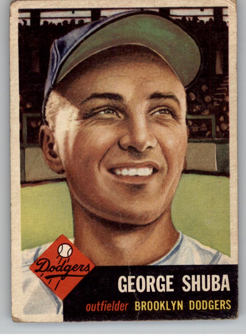 1953 Topps #34 George Shuba