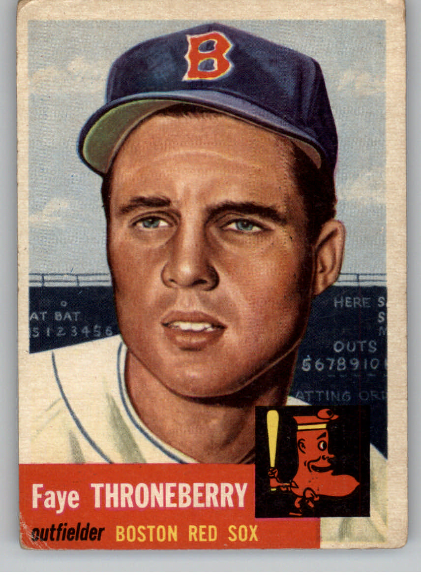 1953 Topps #49 Faye Throneberry DP