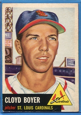 1953 Topps #60 Cloyd Boyer DP