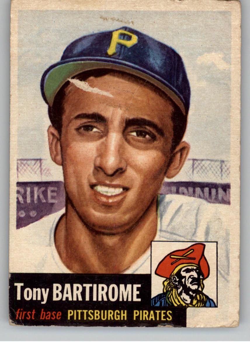 1953 Topps #71 Tony Bartirome