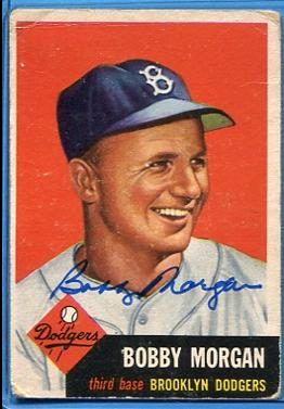 1953 Topps #85 Bobby Morgan DP