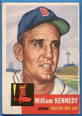 1953 Topps #94 Bill Kennedy DP