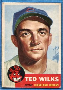 1953 Topps #101 Ted Wilks