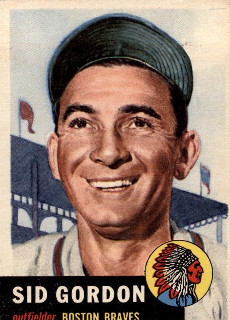 1953 Topps #117 Sid Gordon DP
