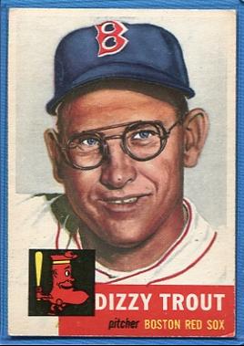 1953 Topps #169 Dizzy Trout