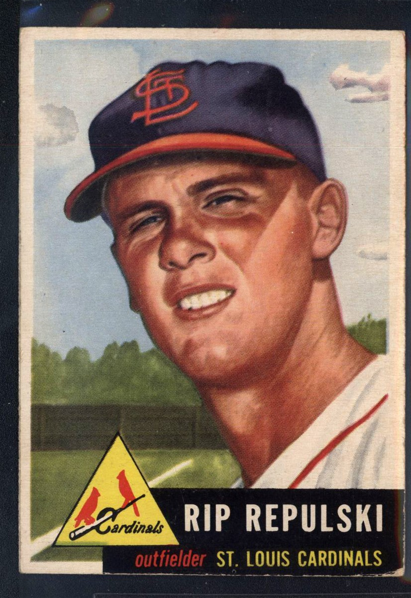 1953 Topps #172 Rip Repulski RC
