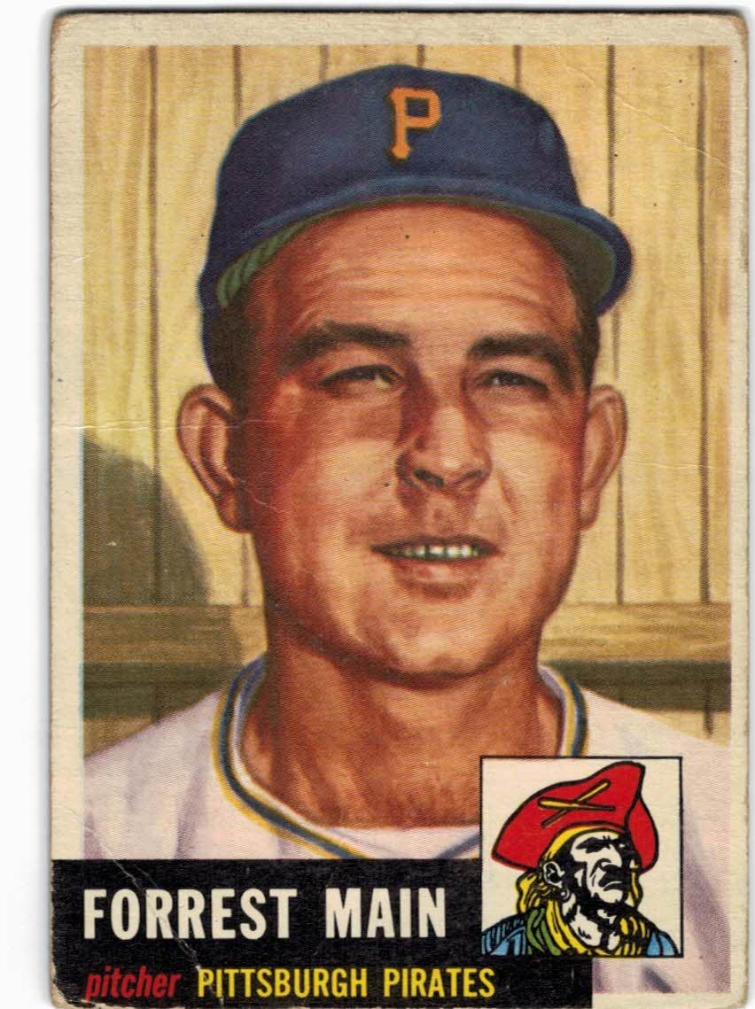 1953 Topps #198 Forrest Main