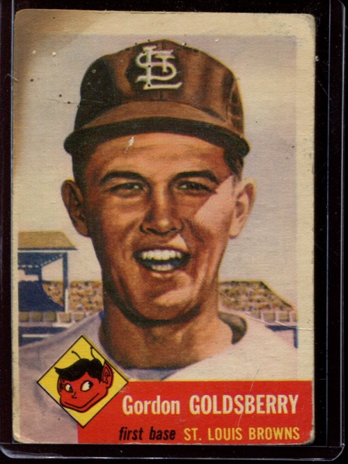 1953 Topps #200 Gordon Goldsberry