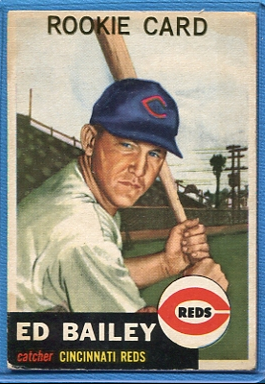 1953 Topps #206 Ed Bailey RC