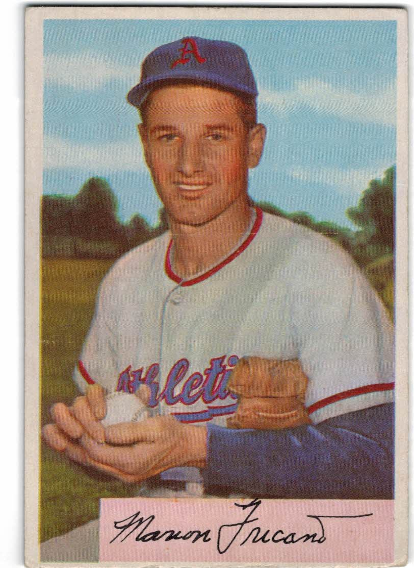 1954 Bowman #3 Marion Fricano