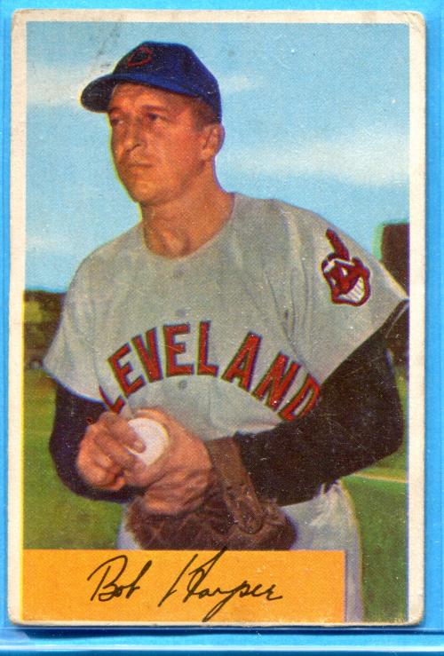 1954 Bowman #4 Bob Hooper
