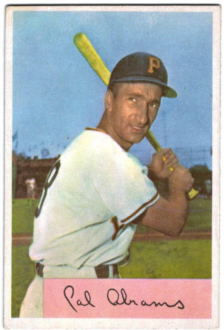 1954 Bowman #91 Cal Abrams