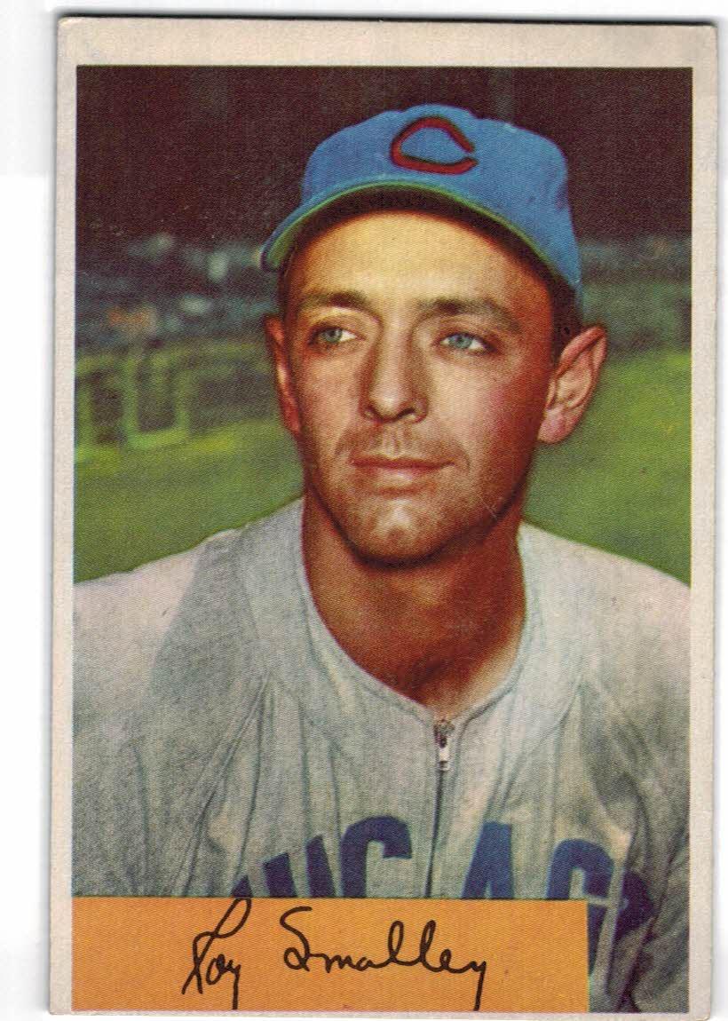 1954 Bowman #109 Roy Smalley