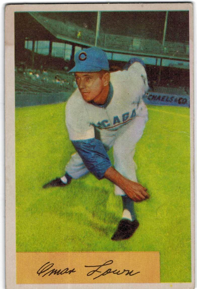 1954 Bowman #157 Turk Lown