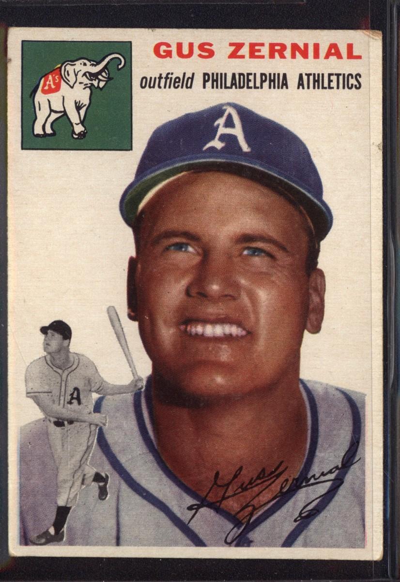 1954 Topps #2 Gus Zernial