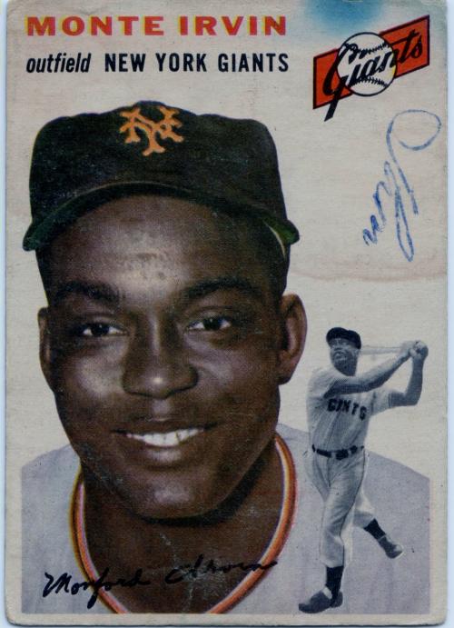 1954 Topps #3 Monte Irvin