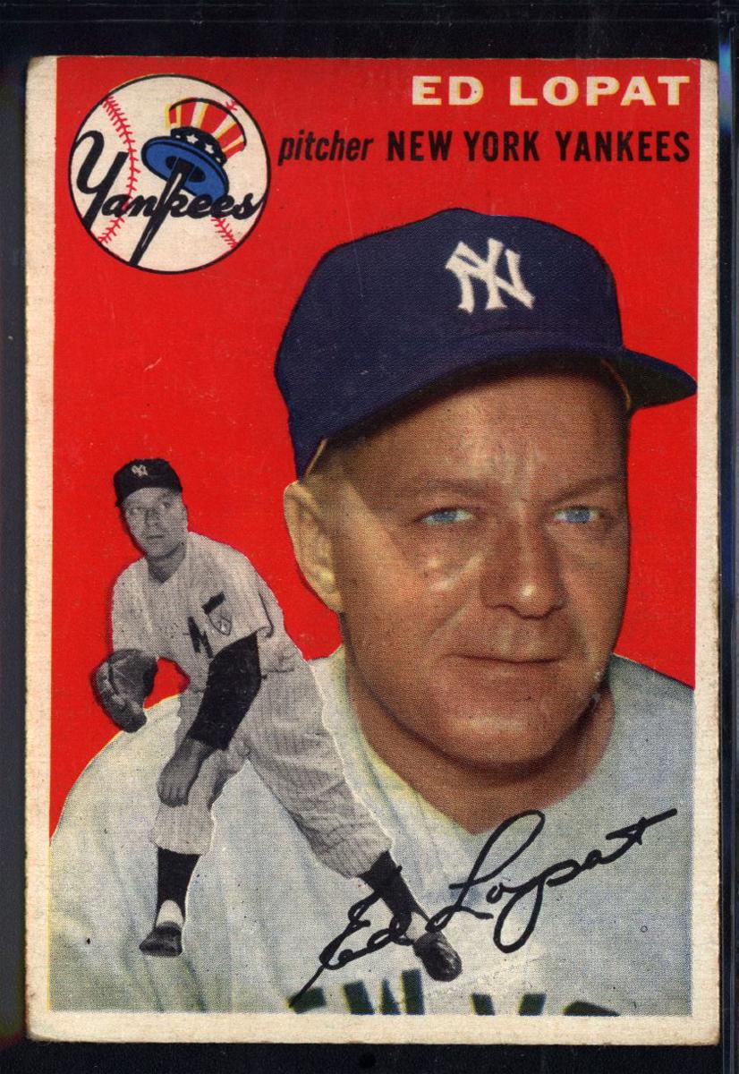 1954 Topps #5 Ed Lopat
