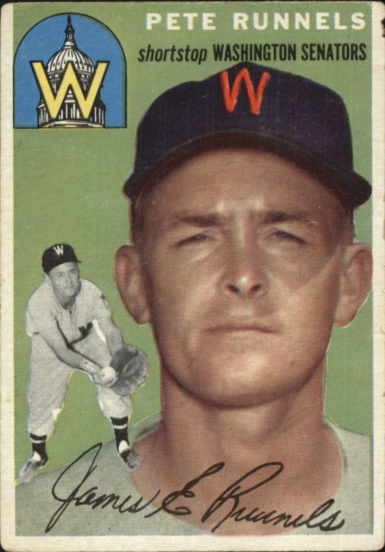 1954 Topps #6 Pete Runnels