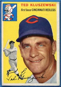 1954 Topps #7 Ted Kluszewski