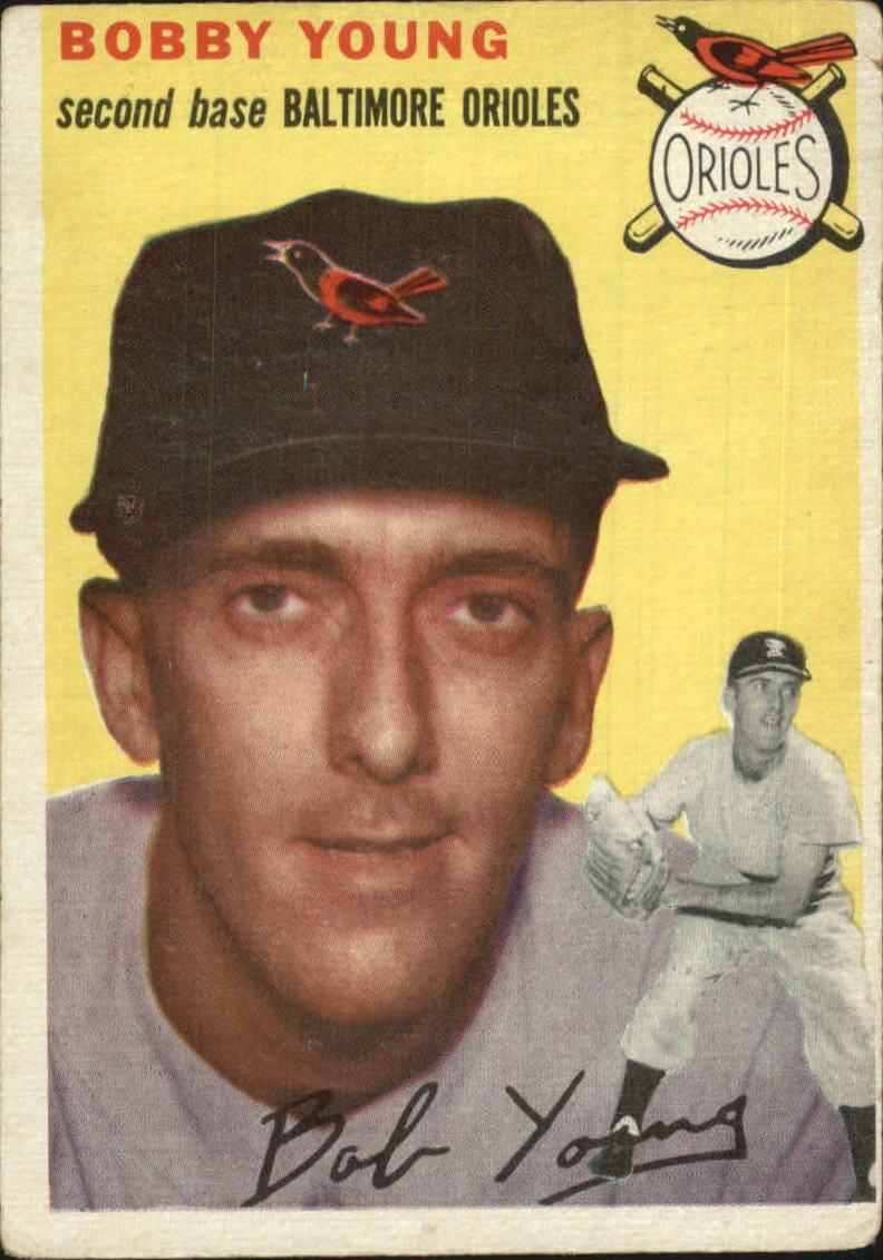 1954 Topps #8 Bob Young