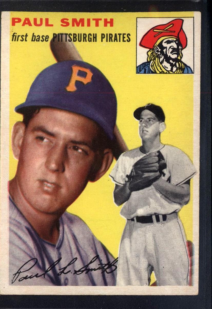 1954 Topps #11 Paul Leslie Smith RC
