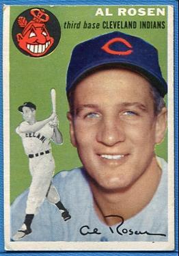 1954 Topps #15 Al Rosen