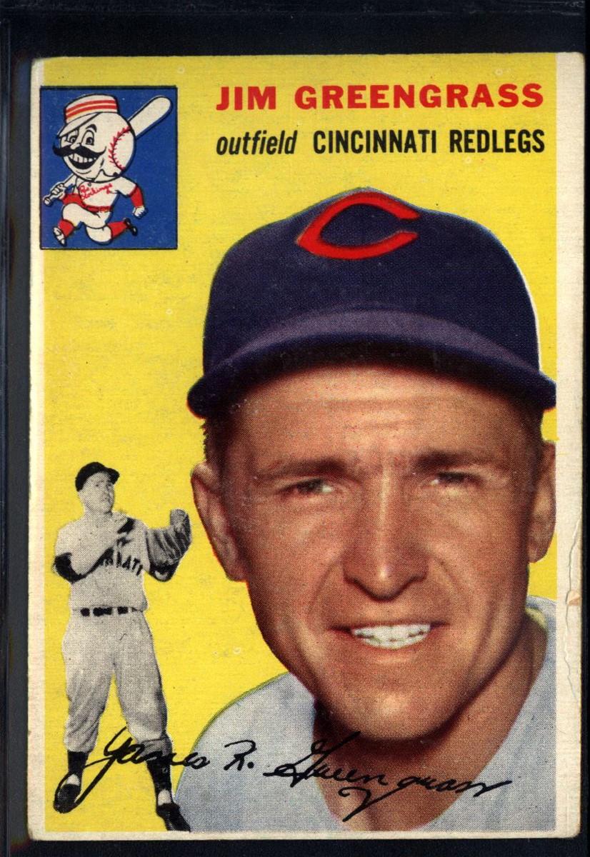 1954 Topps #22 Jim Greengrass