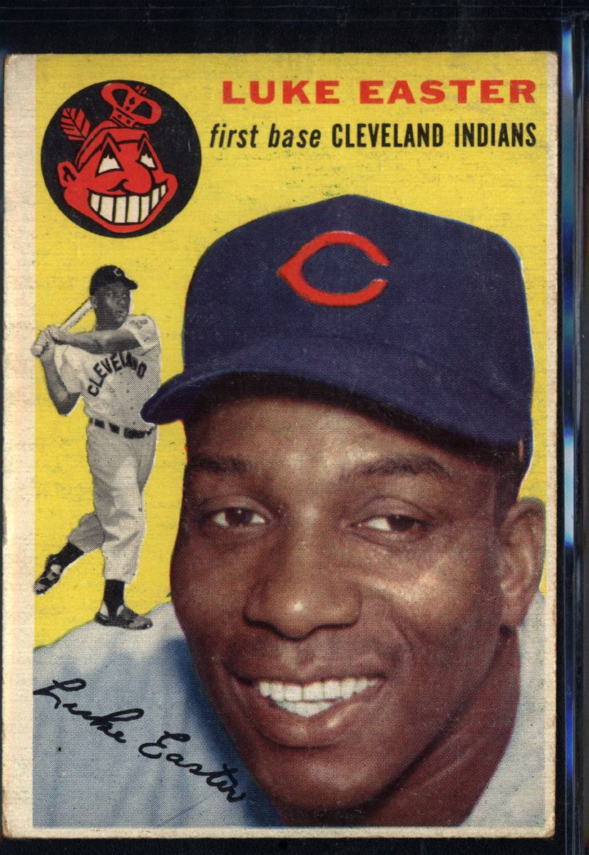 1954 Topps #23 Luke Easter