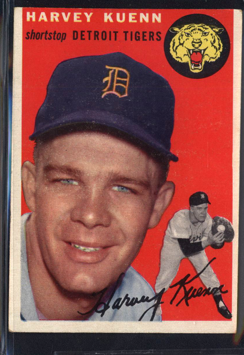 1954 Topps #25 Harvey Kuenn RC