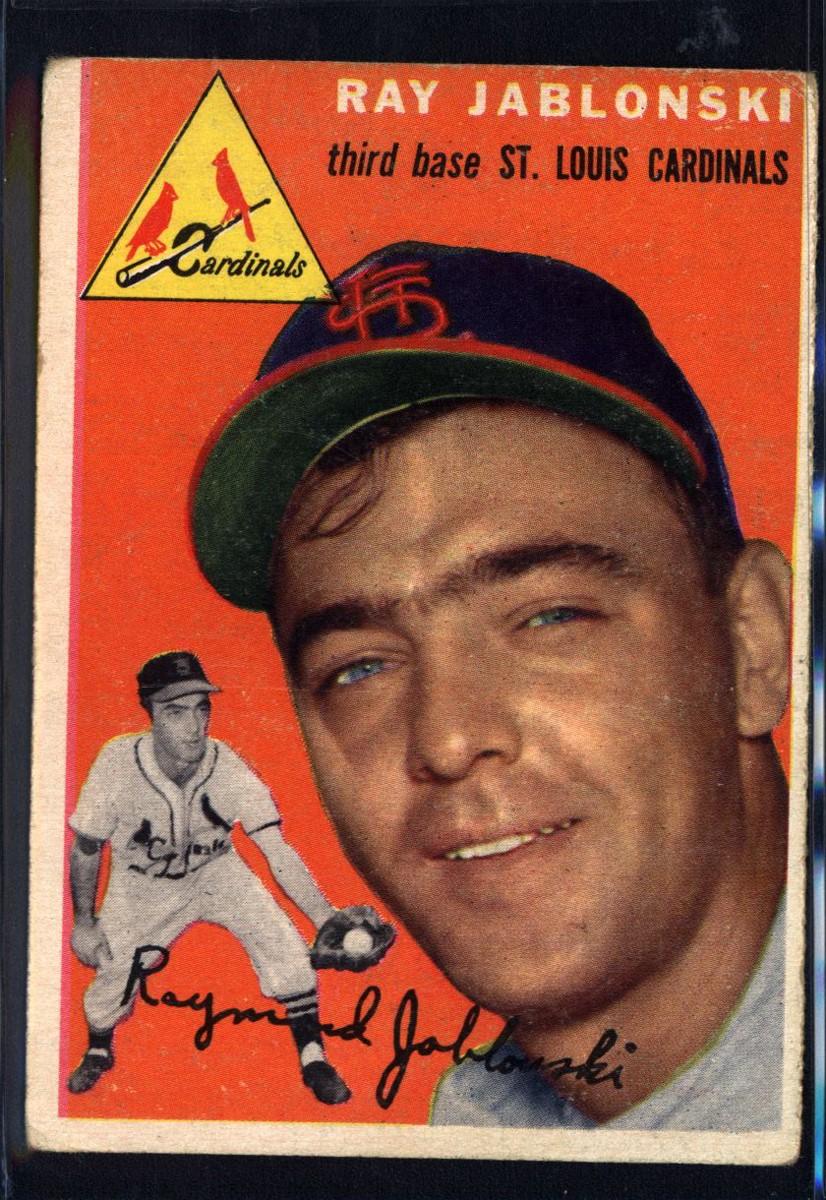 1954 Topps #26 Ray Jablonski