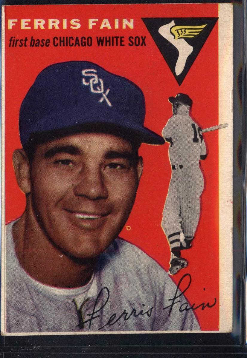 1954 Topps #27 Ferris Fain