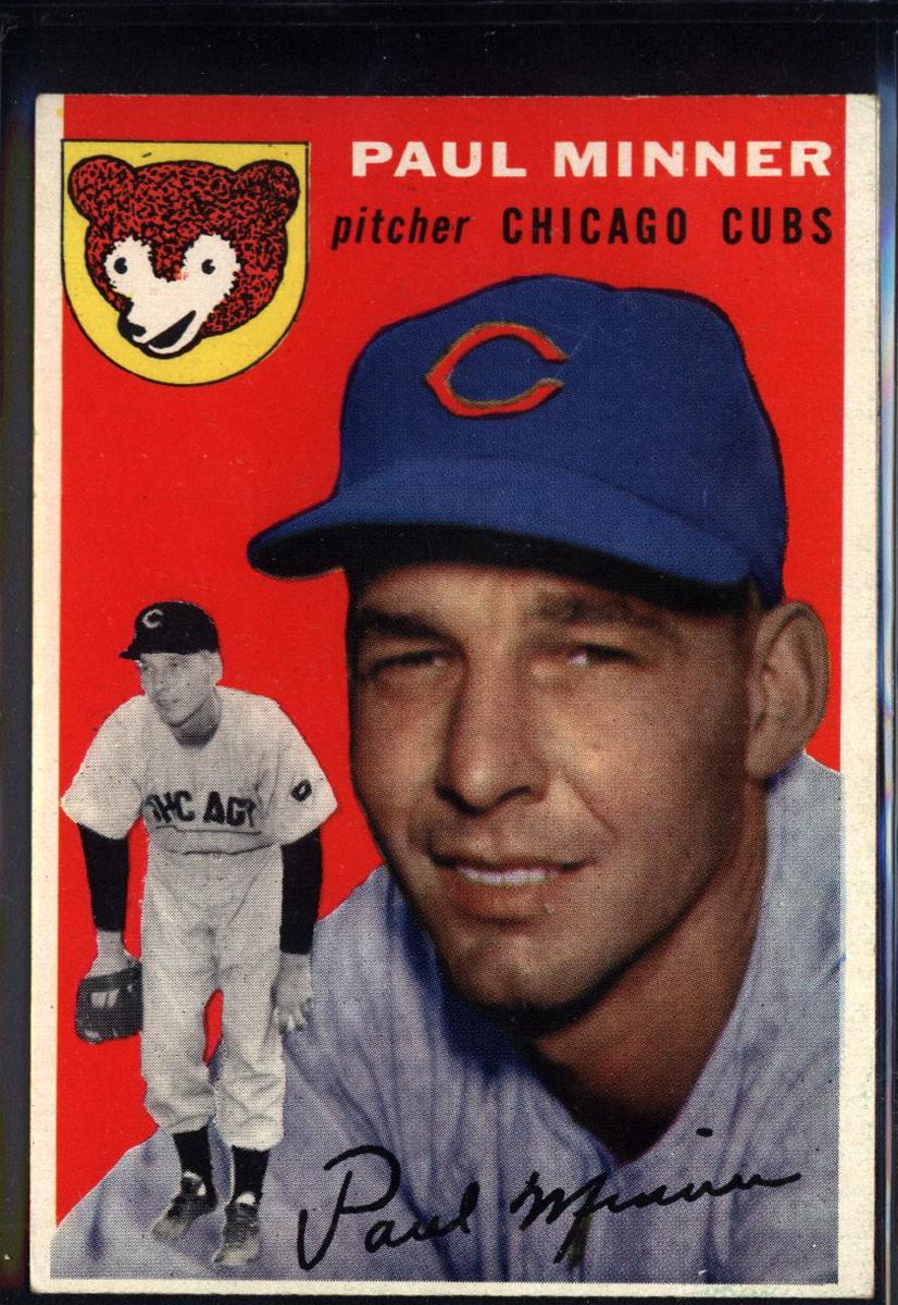1954 Topps #28 Paul Minner