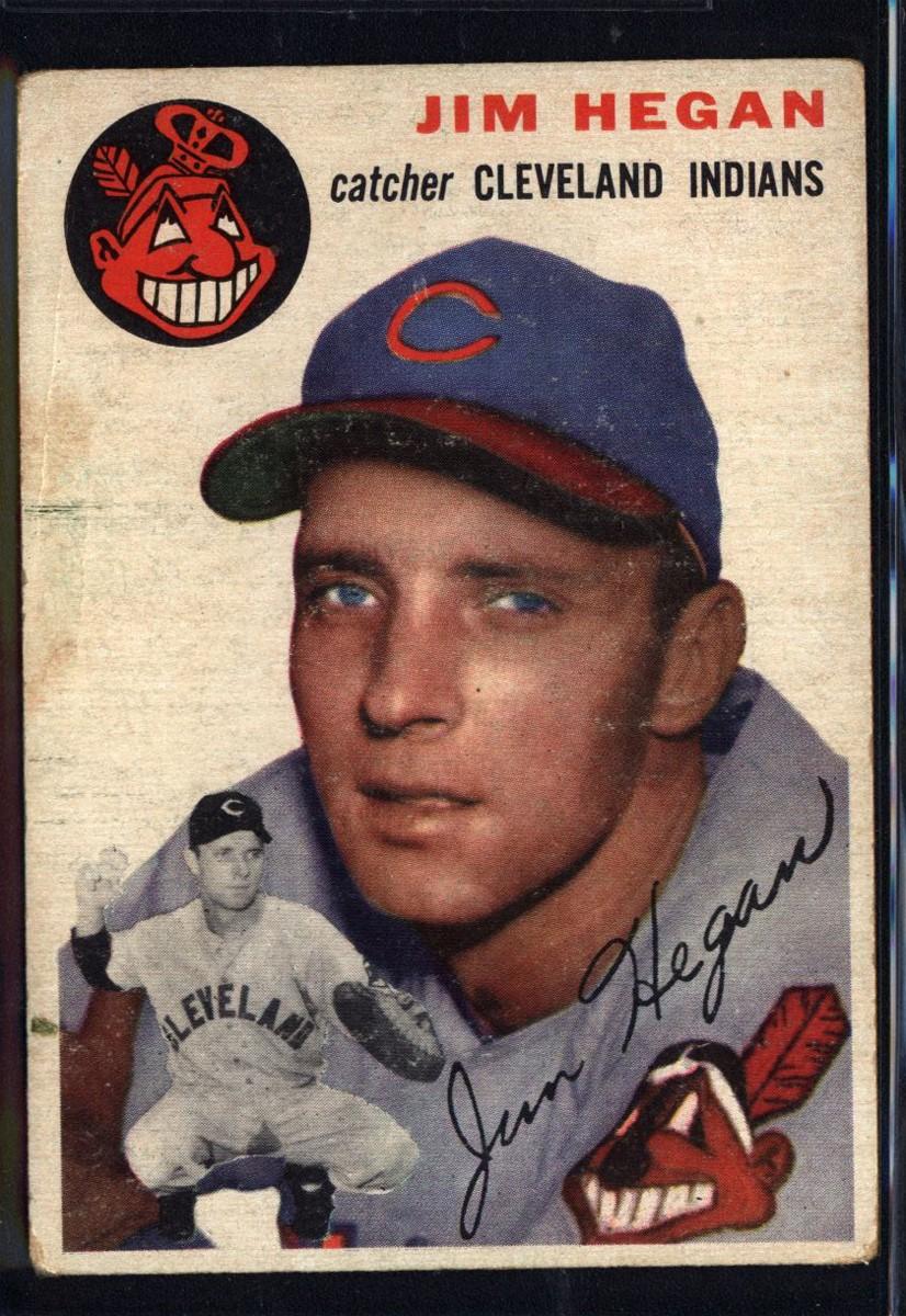 1954 Topps #29 Jim Hegan