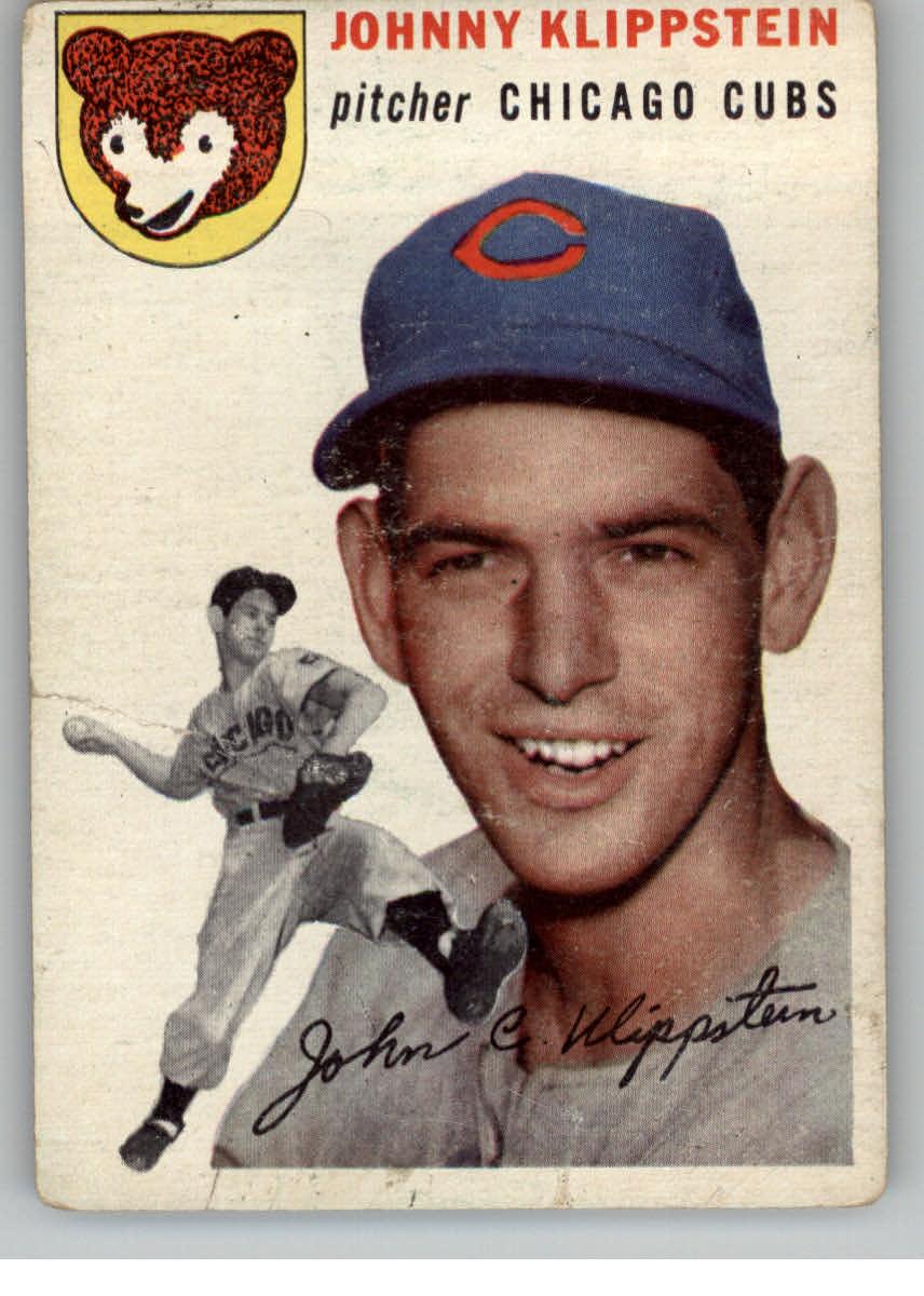 1954 Topps #31 Johnny Klippstein
