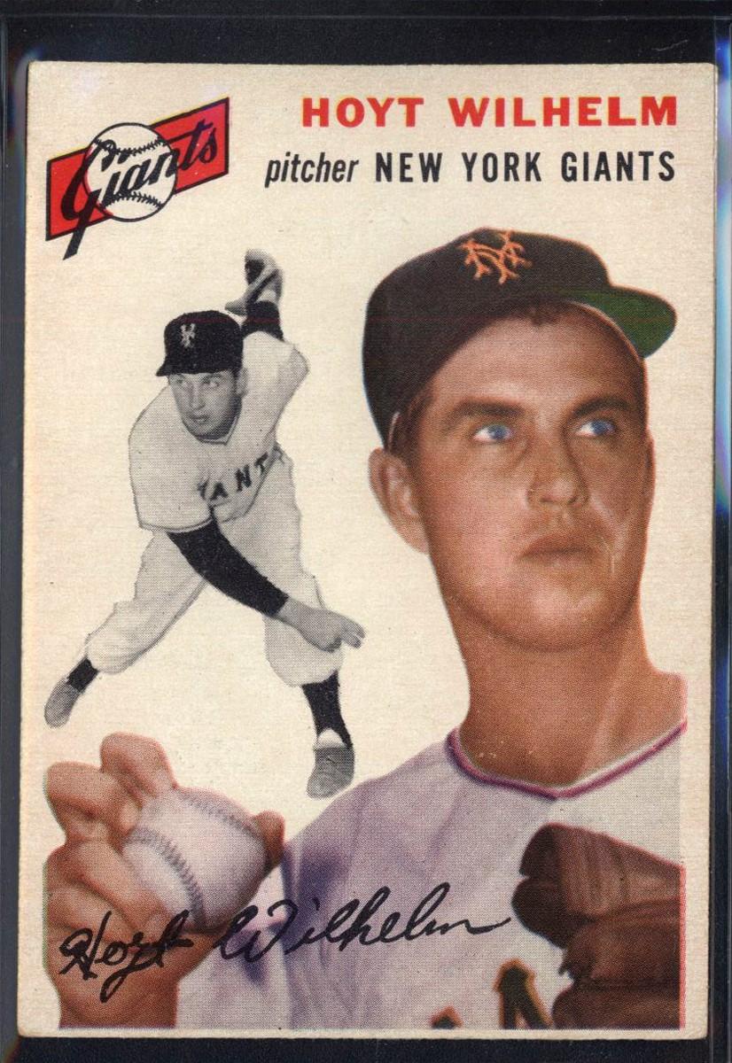 1954 Topps #36 Hoyt Wilhelm
