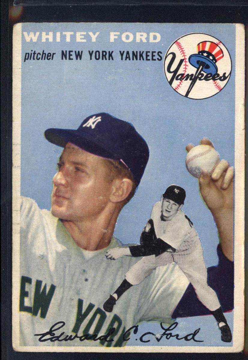 1954 Topps #37 Whitey Ford