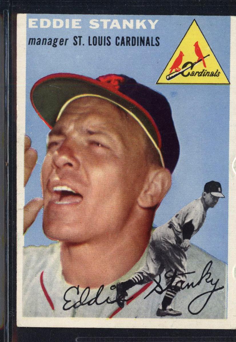 1954 Topps #38 Eddie Stanky MG