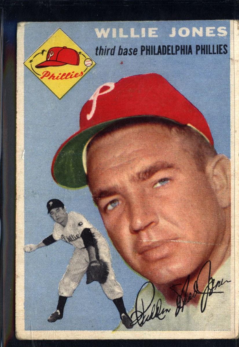 1954 Topps #41 Willie Jones