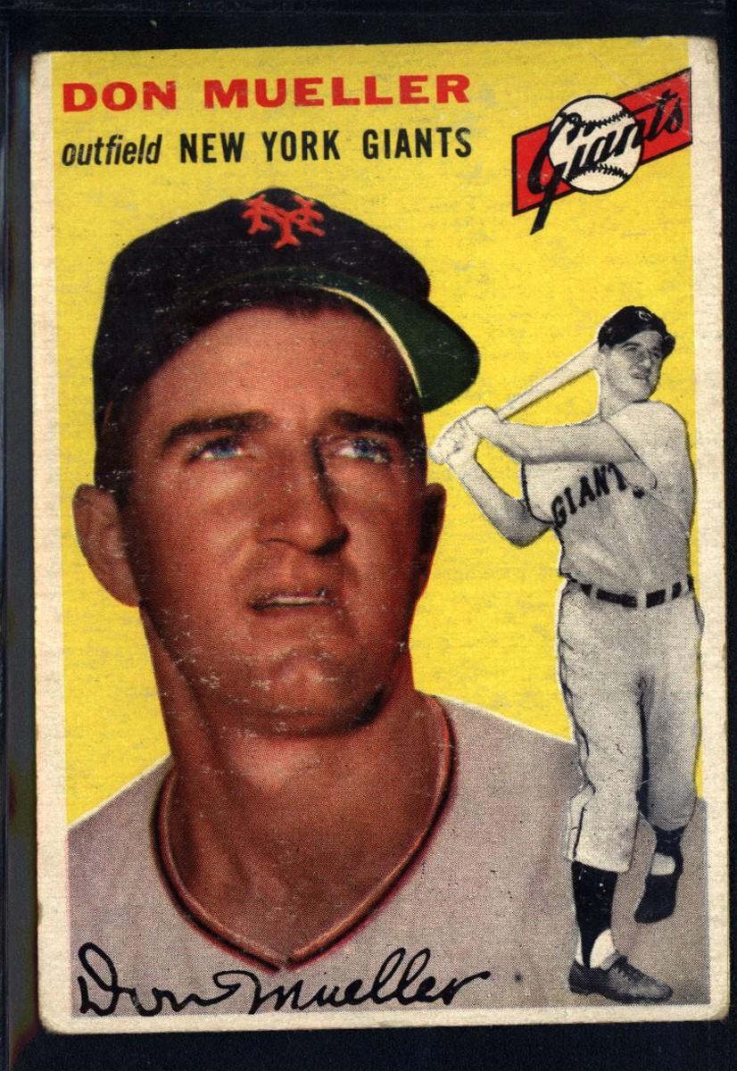 1954 Topps #42 Don Mueller