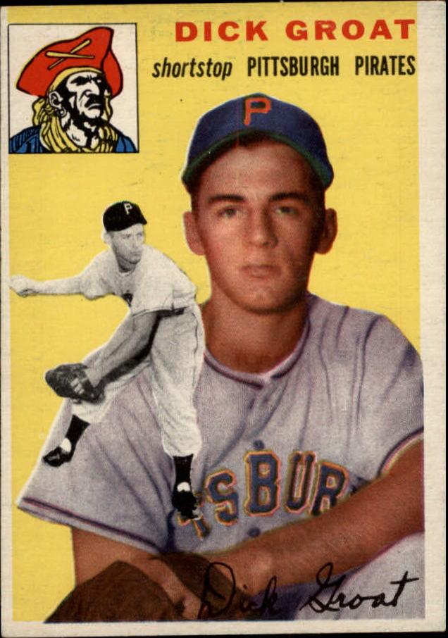 1954 Topps #43 Dick Groat