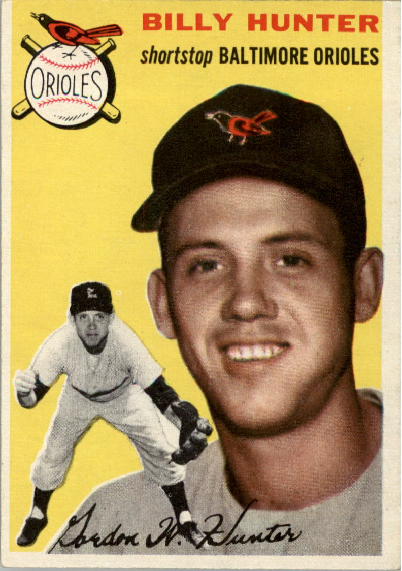 1954 Topps #48 Billy Hunter
