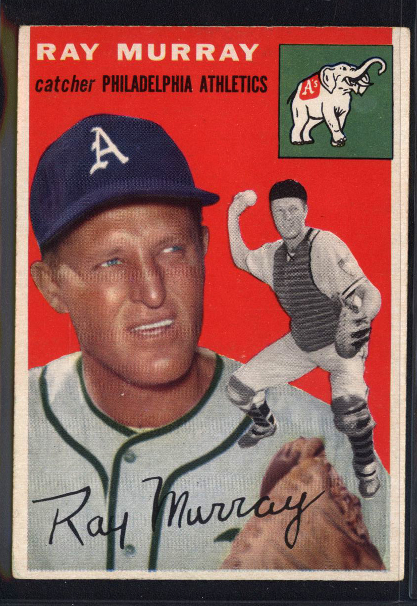 1954 Topps #49 Ray Murray