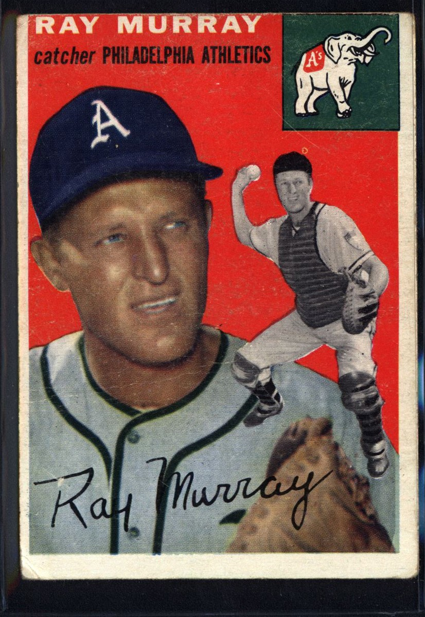 1954 Topps #49 Ray Murray