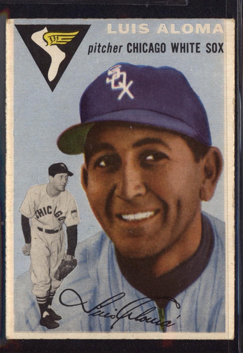 1954 Topps #57 Luis Aloma